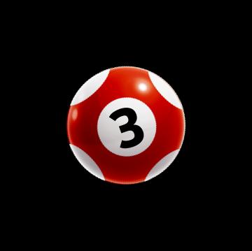 loto rdeča kroglica