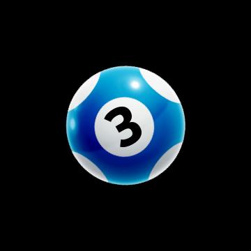 vikinglotto modra kroglica